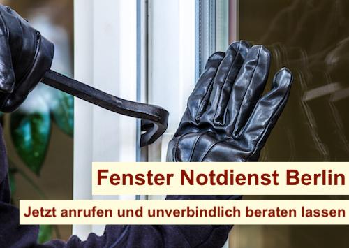 Fenster Notdienst Berlin