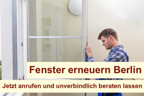 Fenster erneuern Berlin