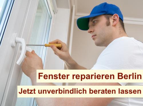 Kunststofffenster reparieren Berlin